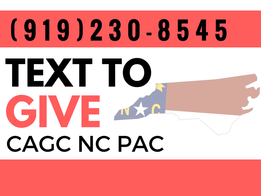 Text to Give to NC CAGC PAC