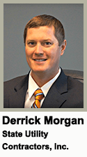Derrick Morgan, State Utility Contractors - 2016 Top Young Leader
